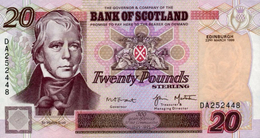 * SCOTLAND 20 POUNDS 2001 P-121c UNC [SQ121c] - [ 3] Scotland