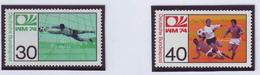 GERMANY 811-812,unused,football - Coppa Del Mondo
