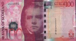 * SCOTLAND 100 POUNDS 2007 P-128a UNC [SQ128a] - 100 Pounds