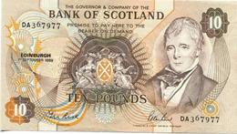* SCOTLAND 10 POUNDS 1989 P-113d UNC [SQ113d] - [ 3] Scotland
