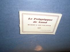 LE POLYPTIQUE DE GAND HUBERT & JAN VAN EYCK CARNET 20 CARTES POSTALES ANCIENNES / GENT BELGIQUE - Gent
