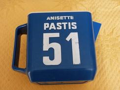 "Carafe ""PASTIS 51"" Rectangulaire. - Jugs"