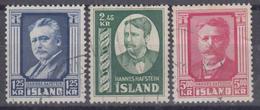 ISLANDIA 1954 Nº 251/53 USADO - 1944-... Republique