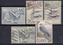 ISLANDIA 1959/60 Nº 294/98 USADO - 1944-... Republique