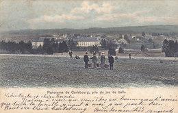 Panorama De Carlsbourg, Pris Du Jeu De Balle (animée, Colorisée, Simi-Aquarelle Breger, 1907) - Paliseul