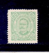 ! ! Angola - 1893 D. Carlos 80 R - Af. 32 - No Gum - Angola