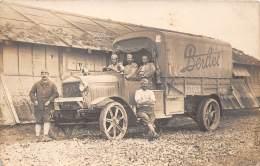 THEMES - CAMIONS / Carte Photo - Camion Berliet - Beau Cliché Animé - Trucks, Vans &  Lorries