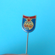 MONTENEGRO FOOTBALL FEDERATION - Vintage Pin Badge * Fussball Calcio Anstecknadel Distintivo Futbol Futebol Foot - Football