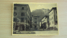 ITALIA TRENTINO CARTOLINA DA STRIGNO VALSUGANA TRENTO FORMATO GRANDE VIAGGIATA - Trento
