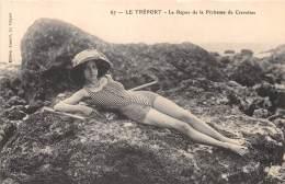 THEMES - PERSONNALITES / Le Tréport - Le Repos De La Pêcheuse De Crevettes - Musidora - Sin Clasificación