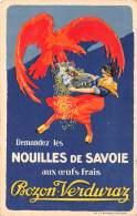 THEMES - ALIMENTATION / Carte Illustrée - Nouilles De Savoie - Bozon Verduraz - Autres