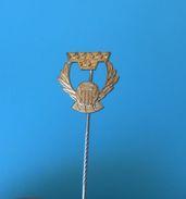 SWEDEN FOOTBALL FEDERATION - Vintage Pin Badge * Fussball Calcio Anstecknadel Distintivo Soccer Association - Football