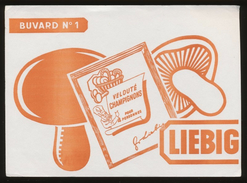 Buvard - LIEBIG Velouté Champignon - Buvards, Protège-cahiers Illustrés