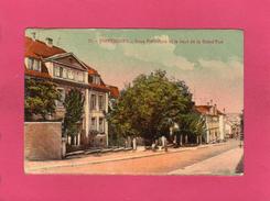 57 MOSELLE, SARREBOURG, Sous-Préfecture Et Le Haut De La Grand'Rue, Animée, 1924, , Animée, 1924, (Bergeret) - Sarrebourg