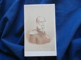 Photo CDV H. Tournier à Paris - Guillaume 1er Roi De Prusse Circa 1860 L312 - Photographs