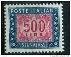 PIA - ITA - Specializzazione : 1977 :  Segnatasse  £ 500 - (SAS 120IV  - CAR 50 ) - 1946-.. République