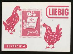 Buvard  -  CREME DE VOLAILLE LIEBIG - Potages & Sauces