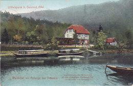Waldhotel Am Anfange Des Urftsee's Eifel (colorisée, F & K 1909) - Waimes - Weismes