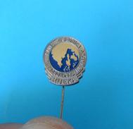 RIJEKA FOOTBALL ASSOCIATION - Croatia Ex Yugoslavia Vintage Pin Badge Fussball Calcio Anstecknadel Distintivo Federation - Football