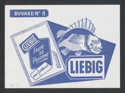 Buvard  -  LIEBIG - SOUPE DE POISSON - Potages & Sauces