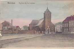 Herstal - Eglise De La Licour (colorisée, Emile Dumont... Manque De Matières) - Herstal