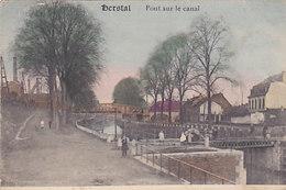 Herstal - Pont Sur La Canal (colorisée, Animée, Emile Dumont, 1919) - Herstal