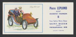 Buvard - Pierre LEPLOMB - DUCRETET-THOMSON - Buvards, Protège-cahiers Illustrés