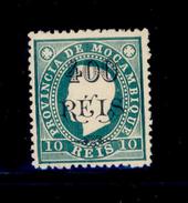 ! ! Mozambique - 1903 King Luis OVP 400 R (Chalky Paper) - Af. 75 - No Gum - Mozambique