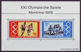 GERMANY 888-889,unused,olimpic Sport - Estate 1976: Montreal