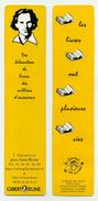 Marque-page - Gibert Jeune - Les Livres Ont Plusieurs Vies - Des Kilomètres De Livres, Des Milliers D'occasions - Marque-Pages