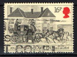 GRAN BRETAGNA - 1984 - DILIGENZA POSTALE - USATO - Usados