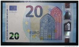 20 EURO V001E1 Draghi Spain Serie VA Perfect  UNC - EURO