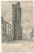 Ath Eglise St Julien Ed. Nels Serie 73, No 1  Timbrée 1902 - Ath