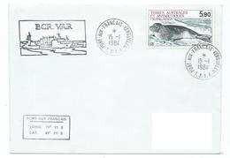 15736-  TAAF - BCR VAR - PORT AUX FRANÇAIS - KERGUELEN 1984 - Marcophilie (Lettres)