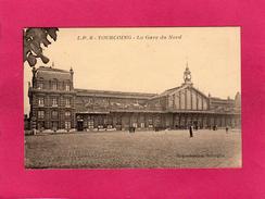 59 NORD, TOURCOING, La Gare Du Nord, Animée, (L. Pollet) - Tourcoing