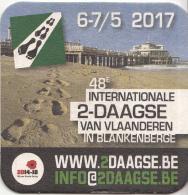 Piraat - 6/7-5-2017 - 48e Internationale 2-daagse Van Vlaanderen In Blankenberghe - België - Ongebruikt Exemplaar - Bierviltjes