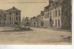 LA FERE Un Coin Des Casernes Des Chasseurs Et L'Esplanade - France
