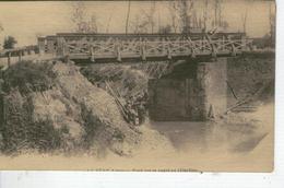 LA FERE Pont Sur Le Canal En Réfection - France