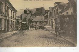 LA FERE L 'Eglise Et L'Ecole Communale - France