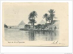 BORD DU NIL ET PYRAMIDES  E LE PRIERE AU DESERT  VIAGGIATE  FP - Egitto