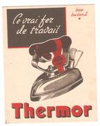 Buvard Le Vrai Fer De Travail Thermor Blotter Ironing Fer à Repasser Repassage - Wash & Clean