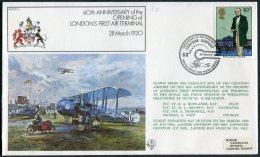 1980 GB Royal Air Force, Croydon Airport Flight Cover RAF FF14 - 1952-.... (Elizabeth II)