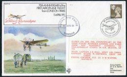 1981 GB Royal Air Force Flight Cover RAF FF29 London - Paris - Covers & Documents