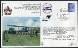1979 GB Royal Air Force Flight Cover RAF FF7. BFPS 1647 Paris France, British Airways - 1952-.... (Elizabeth II)