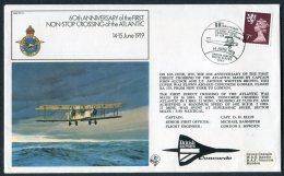 1979 GB Royal Air Force Flight Cover RAF FF3. BFPS 1643 British Airways CONCORDE - 1952-.... (Elizabeth II)