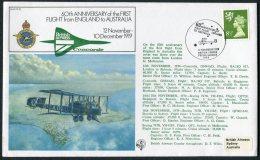 1979 GB Royal Air Force Flight Cover RAF FF10. BFPS 1643 British Airways CONCORDE - Melbourne, Australia - 1952-.... (Elizabeth II)
