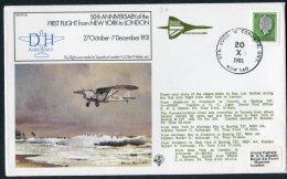 1981 Canada Royal Air Force Flight Cover RAF FF36. Toronto CONCORDE British Airways, Jamaica London. - Concorde