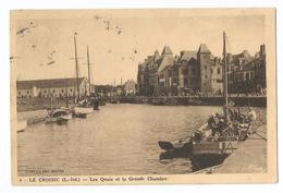 Le Croisic Les Quais Et La Grande Chambre - Le Croisic