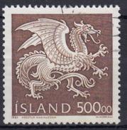 ISLANDIA 1989 Nº 656 USADO - 1944-... República