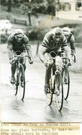 Vélo - Tour De SUISSE De 1957 -1ére  Etape - FORNARA - SCHELLENBERG - COUVREUR...Photo Originale De L'A.T.P   Trés Rare - Radsport